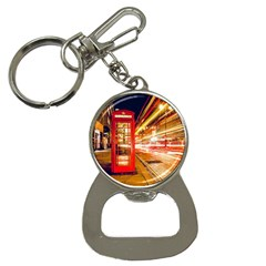 Telephone Box London Night Button Necklaces