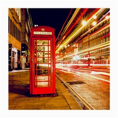 Telephone Box London Night Medium Glasses Cloth (2-Side)
