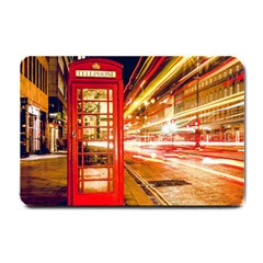 Telephone Box London Night Small Doormat