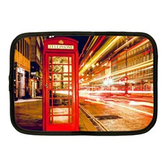 Telephone Box London Night Netbook Case (medium)