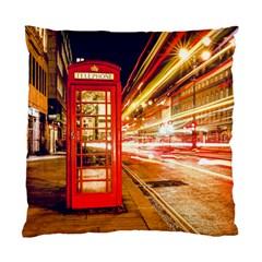 Telephone Box London Night Standard Cushion Case (One Side)