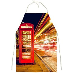 Telephone Box London Night Full Print Aprons