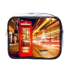 Telephone Box London Night Mini Toiletries Bags