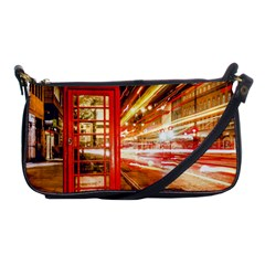 Telephone Box London Night Shoulder Clutch Bags