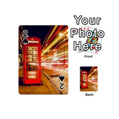 Telephone Box London Night Playing Cards 54 (Mini)