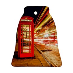 Telephone Box London Night Bell Ornament (two Sides)