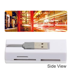 Telephone Box London Night Memory Card Reader (stick)