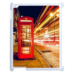 Telephone Box London Night Apple Ipad 2 Case (white)