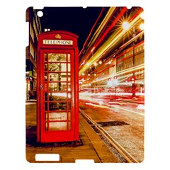 Telephone Box London Night Apple Ipad 3/4 Hardshell Case