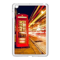 Telephone Box London Night Apple Ipad Mini Case (white)