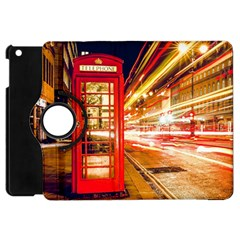 Telephone Box London Night Apple iPad Mini Flip 360 Case