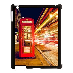 Telephone Box London Night Apple Ipad 3/4 Case (black)