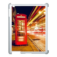 Telephone Box London Night Apple Ipad 3/4 Case (white)