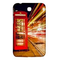 Telephone Box London Night Samsung Galaxy Tab 3 (7 ) P3200 Hardshell Case