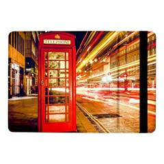 Telephone Box London Night Samsung Galaxy Tab Pro 10 1  Flip Case