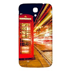 Telephone Box London Night Samsung Galaxy Mega I9200 Hardshell Back Case
