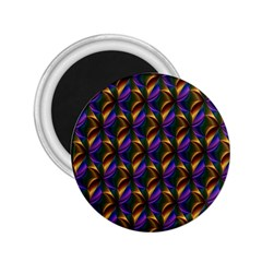 Seamless Prismatic Line Art Pattern 2 25  Magnets