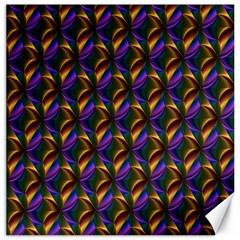 Seamless Prismatic Line Art Pattern Canvas 20  x 20