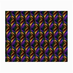 Seamless Prismatic Line Art Pattern Small Glasses Cloth (2 Side)