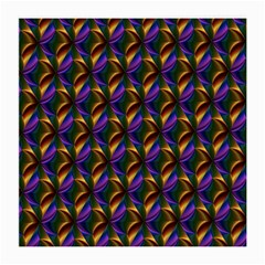 Seamless Prismatic Line Art Pattern Medium Glasses Cloth (2-Side)