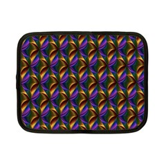 Seamless Prismatic Line Art Pattern Netbook Case (small)