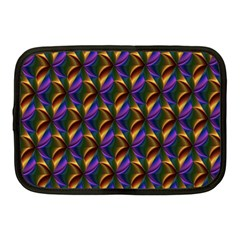 Seamless Prismatic Line Art Pattern Netbook Case (medium)