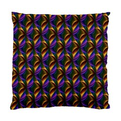Seamless Prismatic Line Art Pattern Standard Cushion Case (Two Sides)
