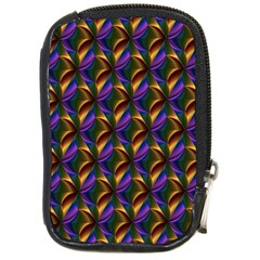 Seamless Prismatic Line Art Pattern Compact Camera Cases