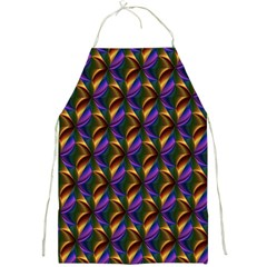 Seamless Prismatic Line Art Pattern Full Print Aprons