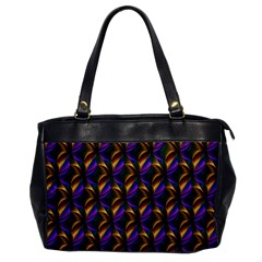 Seamless Prismatic Line Art Pattern Office Handbags