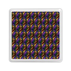 Seamless Prismatic Line Art Pattern Memory Card Reader (square)