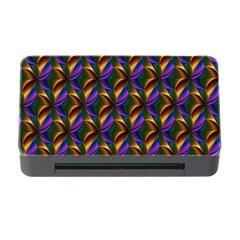 Seamless Prismatic Line Art Pattern Memory Card Reader with CF