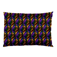 Seamless Prismatic Line Art Pattern Pillow Case (two Sides)