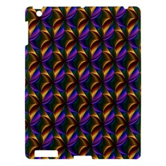 Seamless Prismatic Line Art Pattern Apple Ipad 3/4 Hardshell Case
