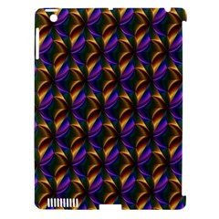 Seamless Prismatic Line Art Pattern Apple Ipad 3/4 Hardshell Case (compatible With Smart Cover)
