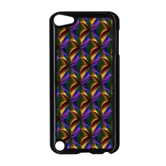Seamless Prismatic Line Art Pattern Apple Ipod Touch 5 Case (black)