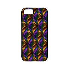 Seamless Prismatic Line Art Pattern Apple Iphone 5 Classic Hardshell Case (pc+silicone)