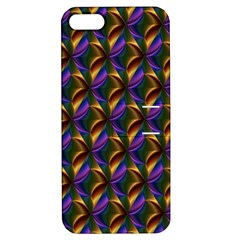 Seamless Prismatic Line Art Pattern Apple Iphone 5 Hardshell Case With Stand