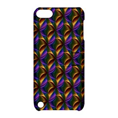Seamless Prismatic Line Art Pattern Apple Ipod Touch 5 Hardshell Case With Stand