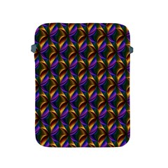Seamless Prismatic Line Art Pattern Apple Ipad 2/3/4 Protective Soft Cases