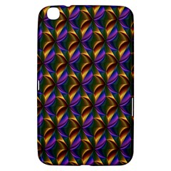 Seamless Prismatic Line Art Pattern Samsung Galaxy Tab 3 (8 ) T3100 Hardshell Case