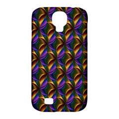 Seamless Prismatic Line Art Pattern Samsung Galaxy S4 Classic Hardshell Case (PC+Silicone)