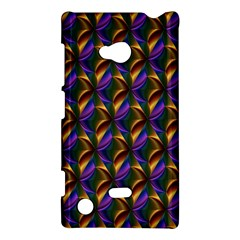Seamless Prismatic Line Art Pattern Nokia Lumia 720