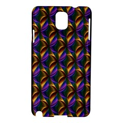 Seamless Prismatic Line Art Pattern Samsung Galaxy Note 3 N9005 Hardshell Case