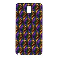 Seamless Prismatic Line Art Pattern Samsung Galaxy Note 3 N9005 Hardshell Back Case