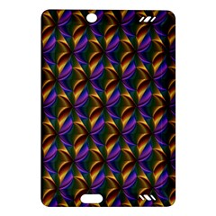 Seamless Prismatic Line Art Pattern Amazon Kindle Fire Hd (2013) Hardshell Case