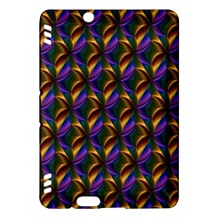 Seamless Prismatic Line Art Pattern Kindle Fire Hdx Hardshell Case