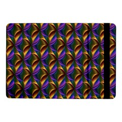 Seamless Prismatic Line Art Pattern Samsung Galaxy Tab Pro 10 1  Flip Case