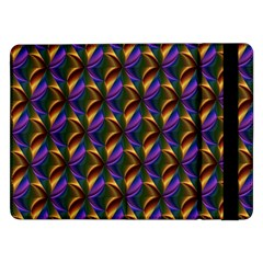 Seamless Prismatic Line Art Pattern Samsung Galaxy Tab Pro 12 2  Flip Case