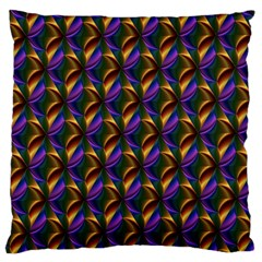 Seamless Prismatic Line Art Pattern Standard Flano Cushion Case (one Side)